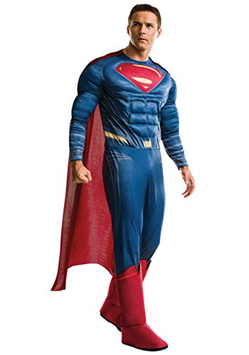 Rubie's Costume Co Men's Superman Adult Deluxe Costume, As Shown, Standard -