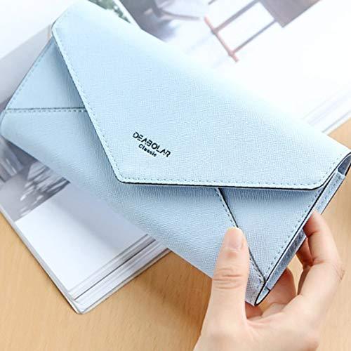 19 Pour Bleu Rangement 7cm 8 8 Bleu Cm Namgiy 7 Monnaie Pochettes Portefeuille 2 De Cartes X Homme 9 2 9 8X51qR