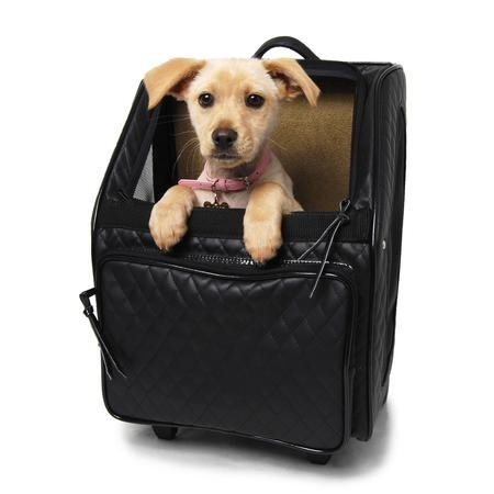 Quilted Rio Wheeled Dog Carrier--