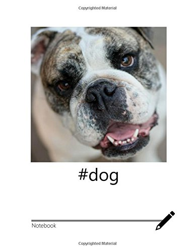 Download #dog: Inspirational Notebook for Writing (Trending Hashtags Series) pdf