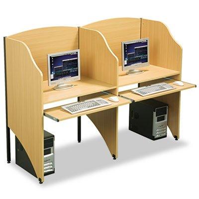 Balt Privacy Study Carrel (o BALT o - Add-On Privacy Study Carrel, Teak Laminate)