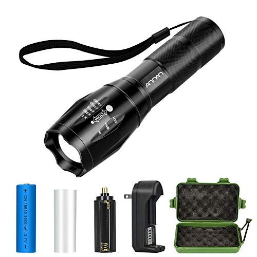 Tactical Flashlight Kit, ANNAN 1000-Lumen Super Bright LED F