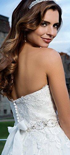 Avorio Spose Donne Abiti Sexy Per Da Da Sposa In Besswedding Le Fidanzata Sposa In Pizzo Delle Lungo aq6RPnw
