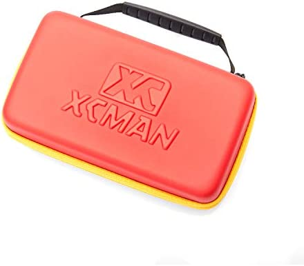 XCMAN Ski and Snowboard Waxing and Tuning Kit with Wax Brush Box for Traveling and Storage (Box with Tuning Tools)