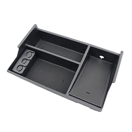 Anydream Center Console Organizer Tray for Toyota Tundra Accessories(2007-2018)/Toyota Sequoia (2008-18) -