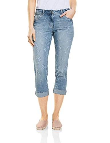 authentic 10317 Blu Used Wash Slim Donna Cecil Jeans qa1gBf