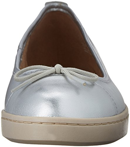 Cordella Silver Flat Alto 8 5 Clarks M B Leather Women's TwU65p