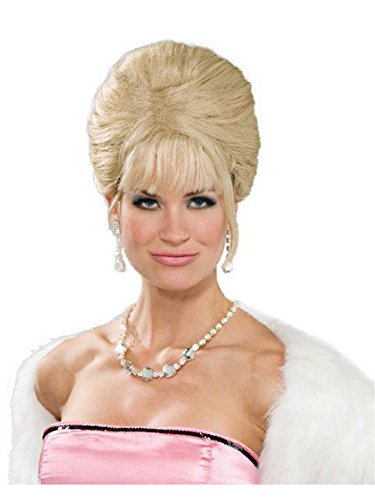 Forum Novelties Women's High Society Princess Costume Wig, Blonde, One Size -