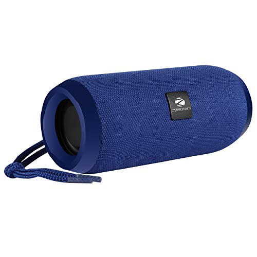 Zebronics Zeb-Action Portable BT Speaker with TWS Function, USB,mSD, AUX, FM, Mic & Fabric Finish(Blue)