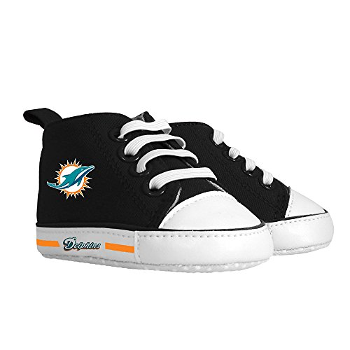 Baby Fanatic Pre-Walker Hightop, Miami Dolphins by Baby Fanatic