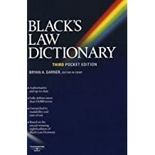 Black's Law Pocket Dictionary