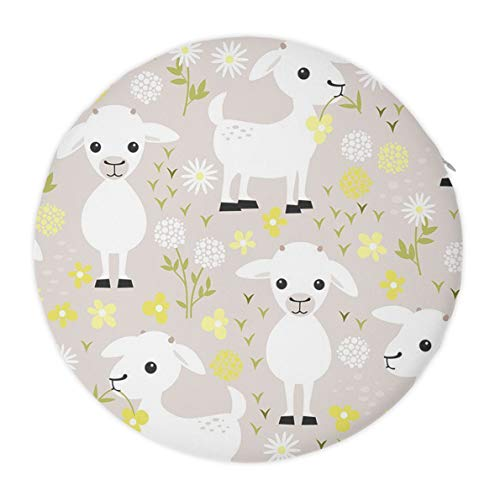 - Excellent Support & Comfort Memory Foam Seat Cushion Sit Cushion, Luxury Office Car Sitting Pregnancy Travel Driving Seat Cushion, (Baby Goats)