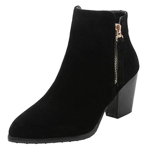 Dorical Boots Damen Kurzschaft Stiefeletten Chelsea QrsxChdt