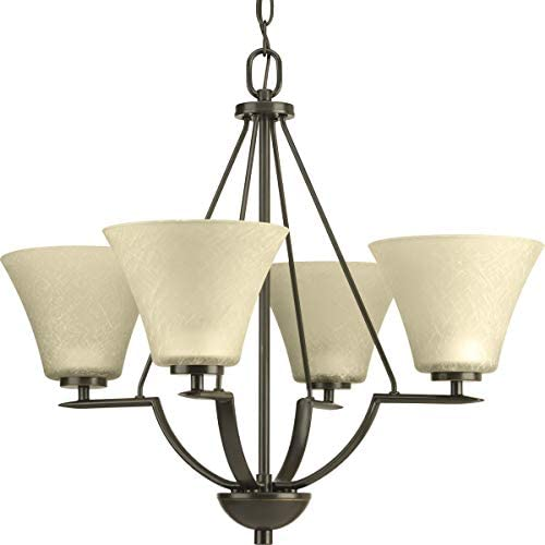 Progress Lighting P4622-20 Bravo Collection 4-Light Chandelier