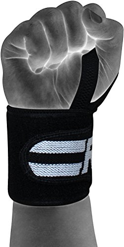 RDX Gym Straps Weight Lifting Wrist Wraps Crossfit Bodybuilding Power Training Workout Exercise