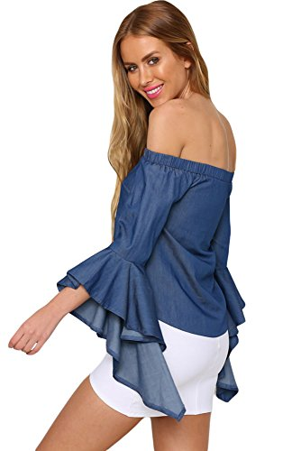 shelovesclothing - Robe - Femme bleu bleu 36-38