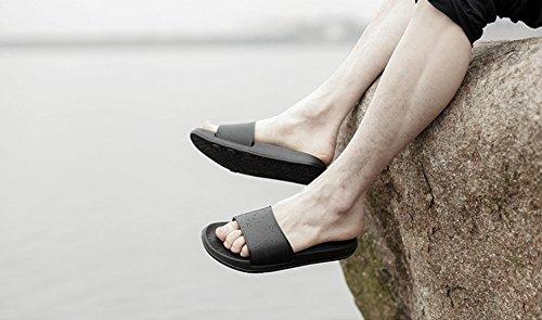 donne Spiaggia Scarpe da All'aperto Sandali Palestra le al per da la bagno antiscivolo da Infradito casa coperto Estate per bagno casa Piscina pantofole Balneare Nero MAYI 5XwqTZ07