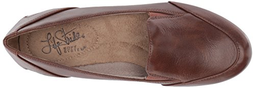 LifeStride Women's Flat Dark Disco Tan ZpYwUp8q