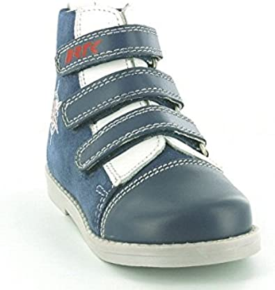 Toddler//Little Kid Bartek Boys Orthopedic Leather Shoes with Arch and Ankle Support 14379//0MY