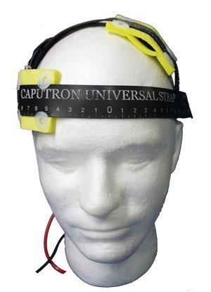 Caputron Universal Strap Black tDCS Headstrap