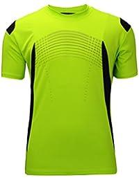 Sportswear Men's 100% Polyester Moisture-Wicking Short-Sleeve T-Shirt (1 Pack 3 Pack)