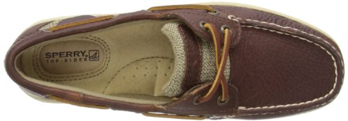 Tan Womens Sperry Bluefish 2 Lace Up Flats Eye 0Tzdxz6q