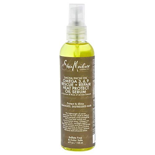 Omega 3 Repair (Shea Moisture Sacha Inchi Oil Omega-3-6-9 Rescue & Repair Hair & Scalp Tonic for Unisex, 4 Ounce)