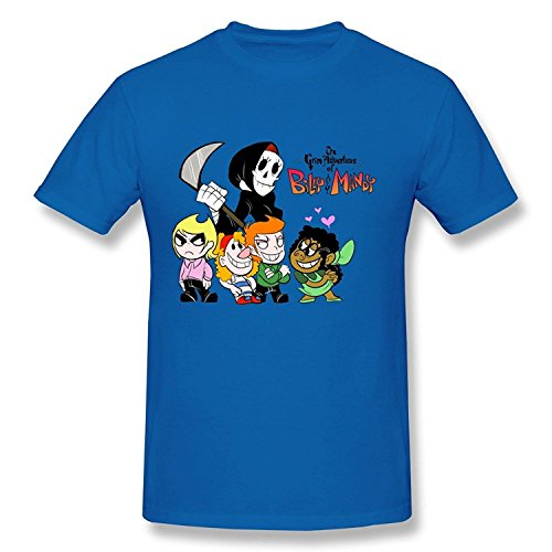 The Vault Club Halloween (WunoD Men's The Grim Adventures Of Billy And Mandy T-shirt Size)