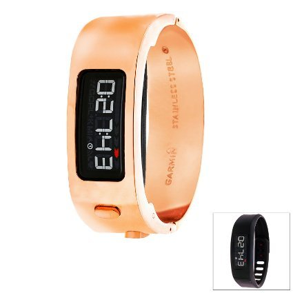 Garmin GAGS424912Q Women's Vivofit 2 Bundle, Rose Gold by Garmin