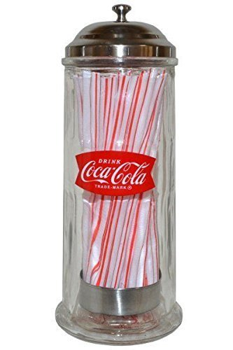 Official Heavy Glass Straw Dispenser