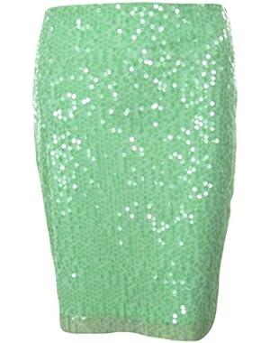 Calvin Klein Women's Scattered Sequined Skirt