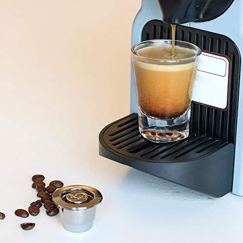 Libertey - Cápsula de café de Acero Inoxidable 304 de Metal para ...