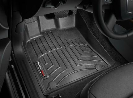 Amazoncom Audi Q Black WeatherTech Floor Liner Full - Audi 90 car mats