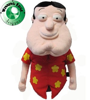 Winning Edge Designs Family Guy Quagmire Headcover( COLOR: N/A, SIZE:N/A ), Outdoor Stuffs