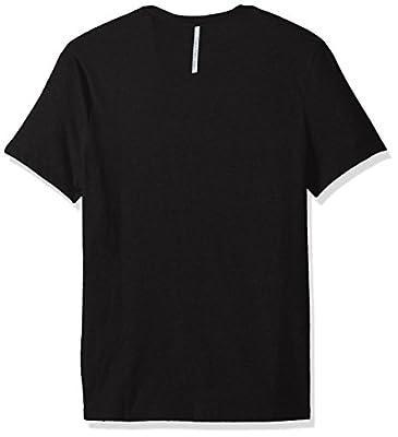 Calvin Klein Jeans Men's Short Sleeve Template Logo Crew Neck T-Shirt