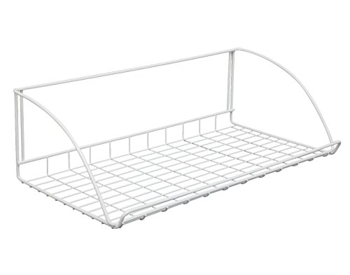 nch Wide Laundry Utility Hanger Shelf (24 Inch Wire Shelf)