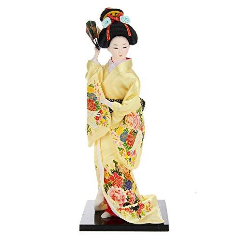 SENREAL Japanese Geisha Doll Oriental Kimono Doll Geisha for sale  Delivered anywhere in USA
