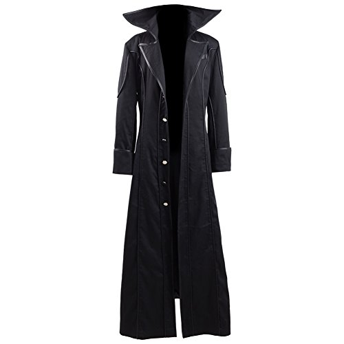 Akira Kurusu Cosplay Costume Joker Outfit Halloween Long Jacket Full Set (X-Small, Jacket) ()