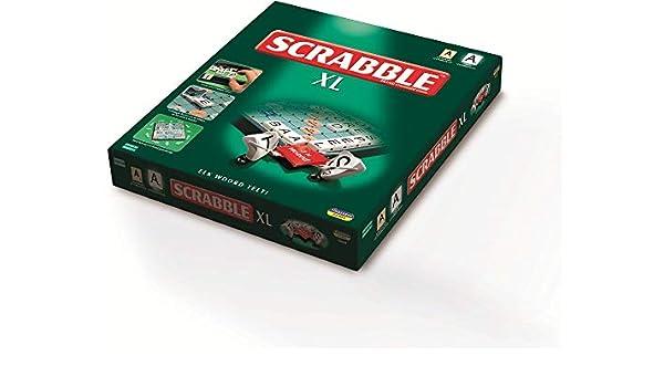 MEGABLEU Scrabble XL Juego de Mesa de Palabras Niños y Adultos - Juego de Tablero (Juego de Mesa de Palabras, Niños y Adultos, Niño/niña, 10 año(s), Holandés, Interior): Amazon.es: Juguetes y juegos