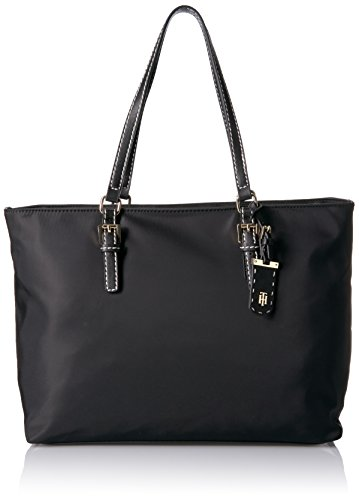 Tommy Hilfiger Tote Bag for Women Julia, Black