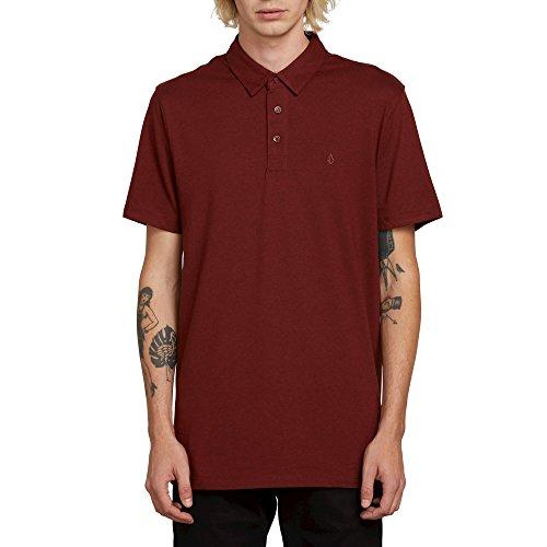 (Volcom Wowzer Modern Fit Cotton Polo Shirt)