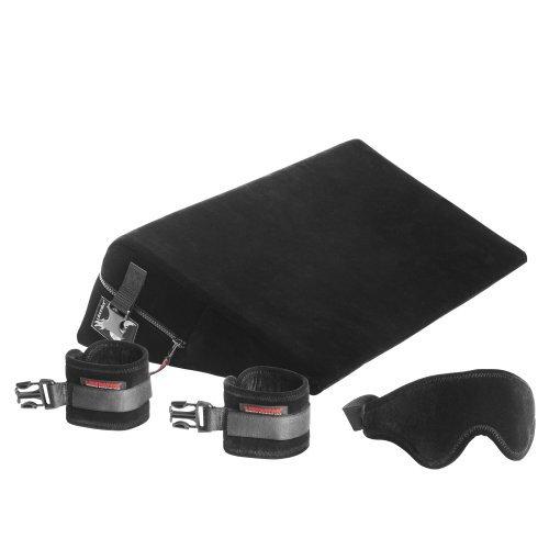 Liberator Black Label 24-Inch Wedge With Cuffs, Black Microfiber by Liberator