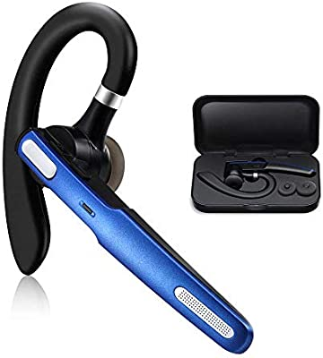 Bluetooth Headset COMEXION Wireless Bluetooth Earpiece V41 HandsFree Earphones with Stereo Noise