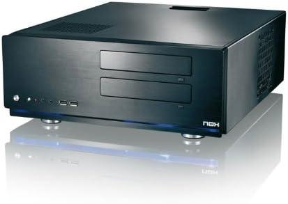 NOX Xtreme Media 2 ATX – Caja de Ordenador, Color Negro: Amazon.es: Informática