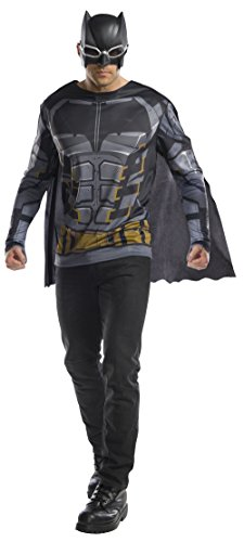 All Batman Costumes (Rubie's Costume Co. Men's Tactical Batman Adult Costume Top, As Shown, X-Large)