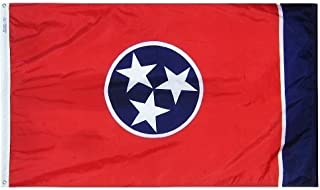 product image for All Star Flags 4x6' Tennessee Nylon State Flag - All Weather, Durable, Outdoor Nylon Flag