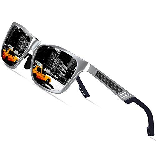 Gris de de polarizadas sol deportiva conducción de gafas para los magnesio la KITHDIA hombres y viaje aluminio Iaw6WqavdX