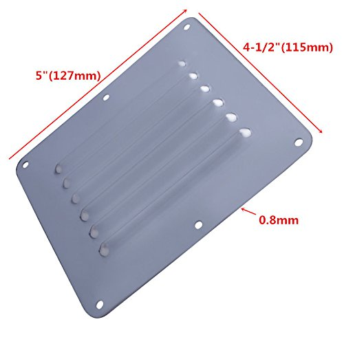 Prairie Metal Boat Stainless Steel Air Vent Louver Grill Cover Ventilation Louver
