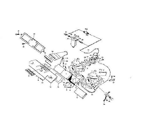 Amazon Com Poseidon Marine Mechanical Fuel Pump For Volvo B18 B20