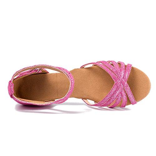 Model Latin Ballroom Shoes Dance Rose Girl SWDZM 202 WR51qXUnxw